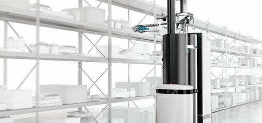 Automatisierung im Lager - Autonomer Greif- und Transportroboter Toru