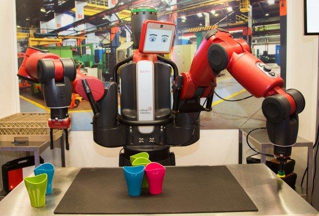 Automatisierung im Lager - Baxter-Roboter