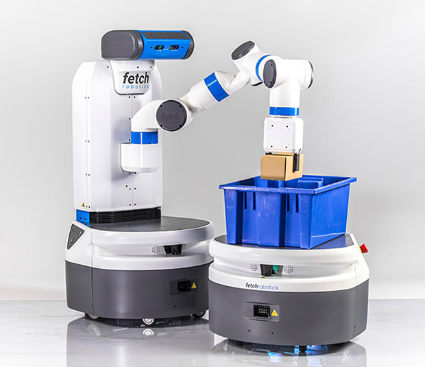 Automatisierung im Lager - Roboter Fetch & Freight