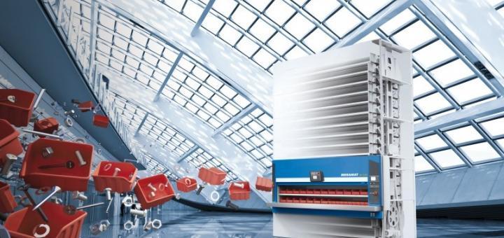 automatisiertes Lagersystem in der Industrie 4.0