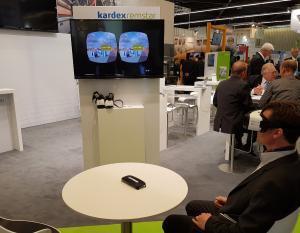 Kardex Remstar - Virtual Reality auf der FachPack