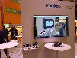 Kardex Remstar bringt mit Microsofts HoloLens Virtual Reality auf die Messe