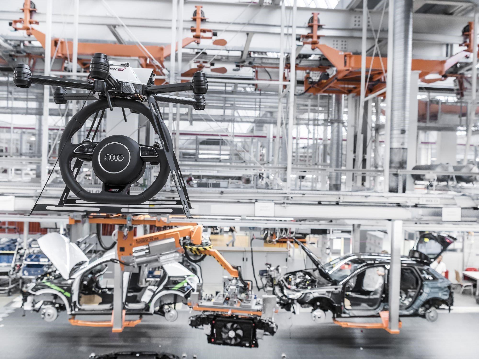 Ersatzteilversorgung per Drohne