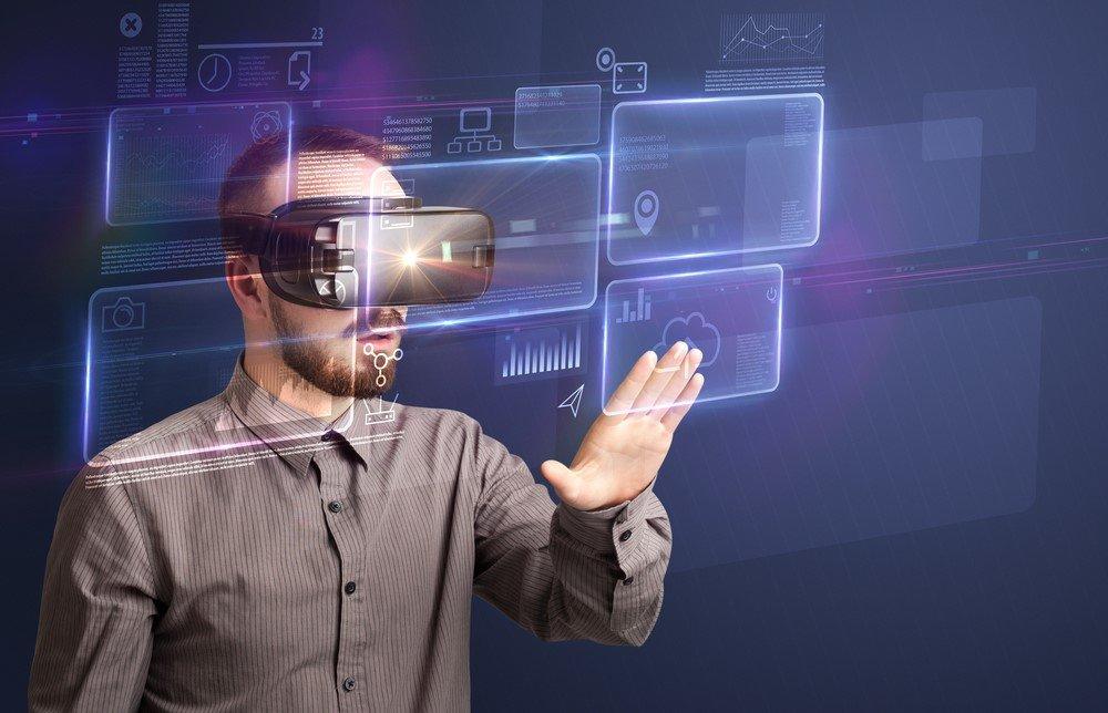 Virtual Reality Anwendung mittels Datenbrille