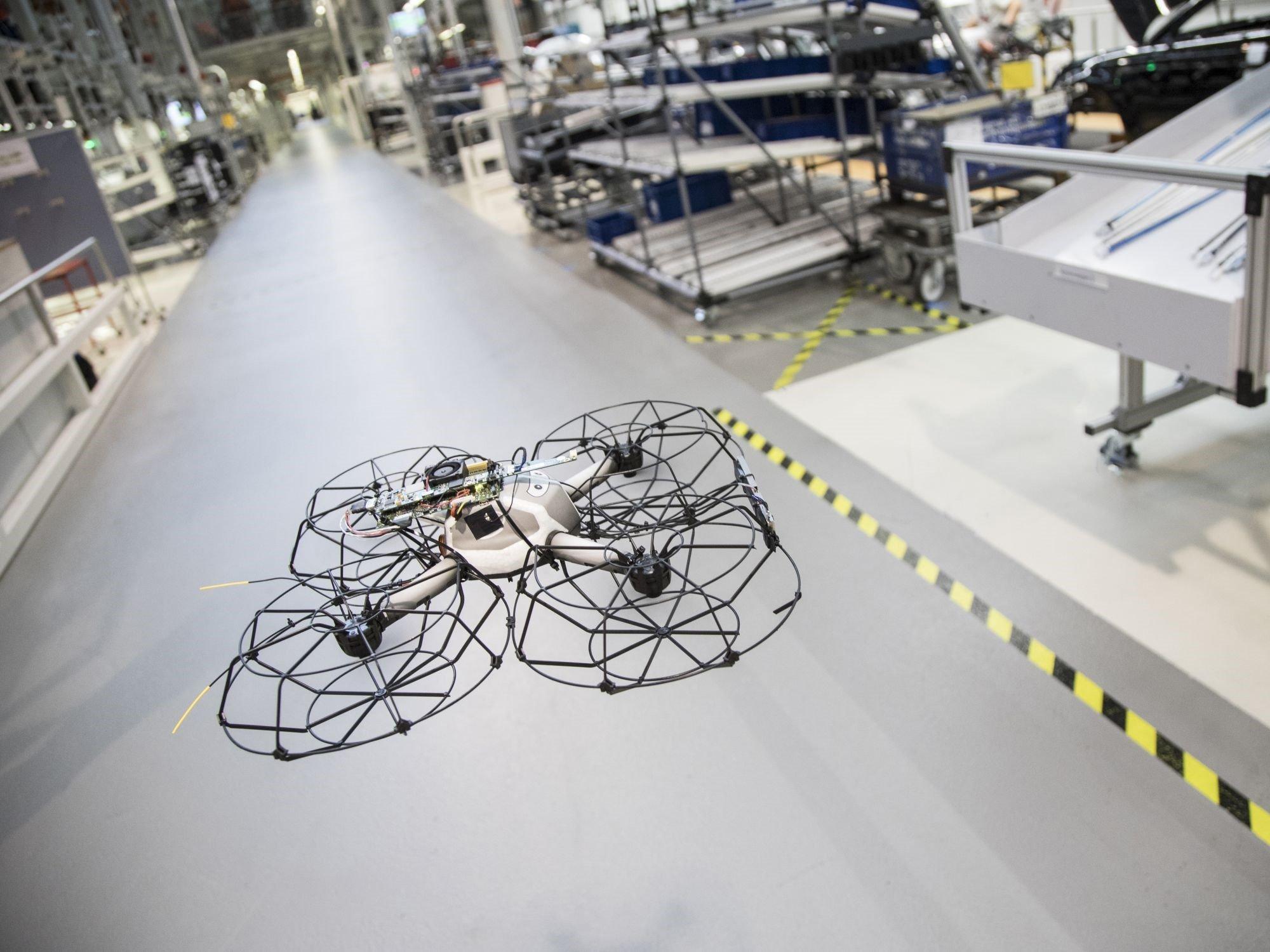 Indoor-Einsatz von Drohnen | Xpert.Digital