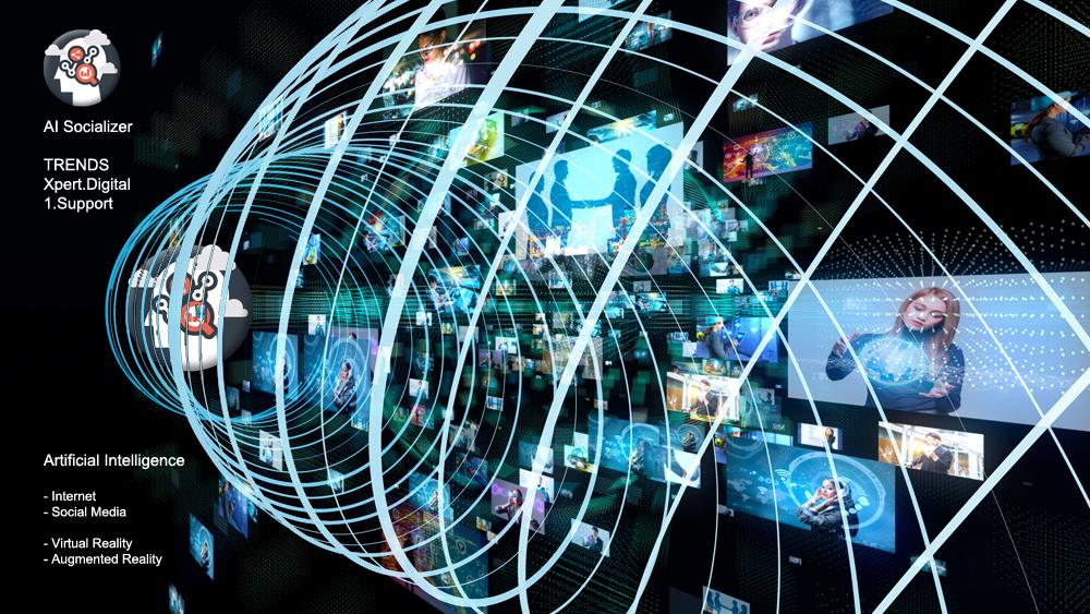 AI Socializer - Künstliche Intelligenz aus dem TRENDS Netzwerk