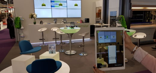 In Paris besticht Kardex Remstar mir innovativer AR-Präsentation am Messestand
