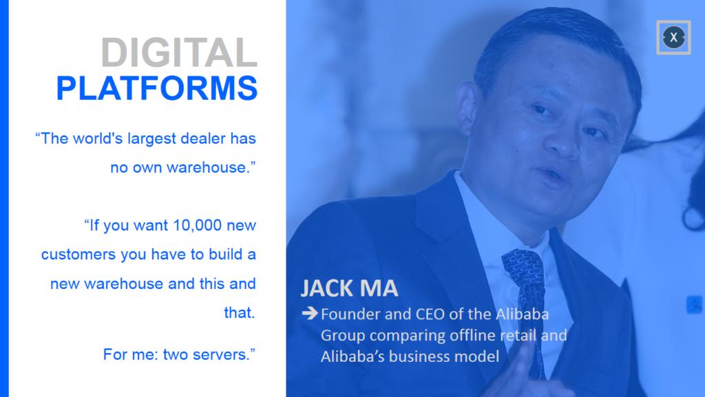 Digitale Plattformen krempeln die globale Wirtschaft um