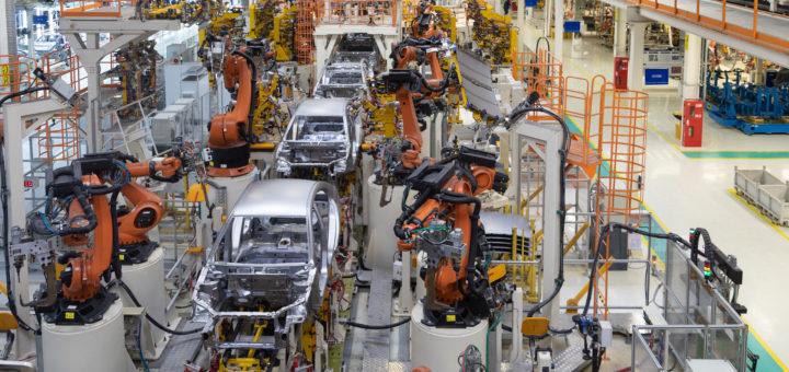 Die Länder mit der höchsten Dichte an Roboterarbeitern – @shutterstock   TRAIMAK