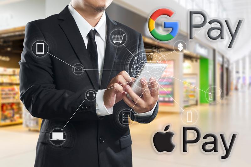 Wo mit Apple Pay und Google Pay bezahlt werden kann - Where to pay with Apple Pay and Google Pay