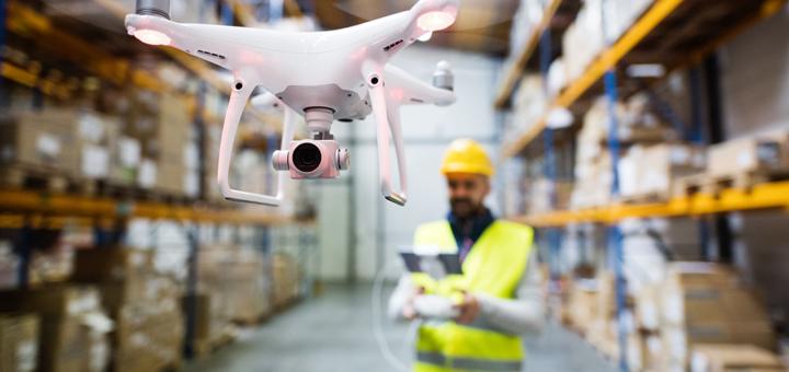 Kommerzielle Drohnen heben ab – @envato | halfpoint