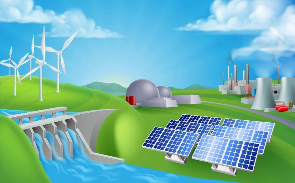 In Deutschland ist der Strommix zu 47% regenerativ – @shutterstock | Christos Georghiou