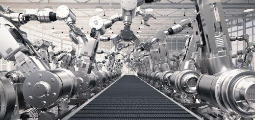 So viele Roboter setzt die Industrie jedes Jahr neu ein – @shutterstock | Phonlamai Photo