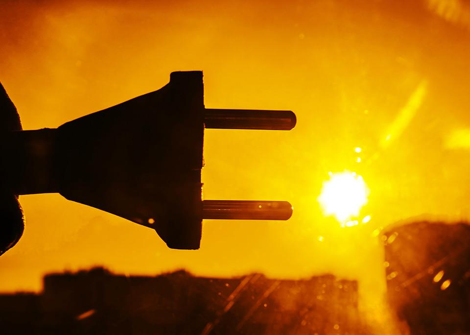 Stromgewinnung mit Photovoltaik