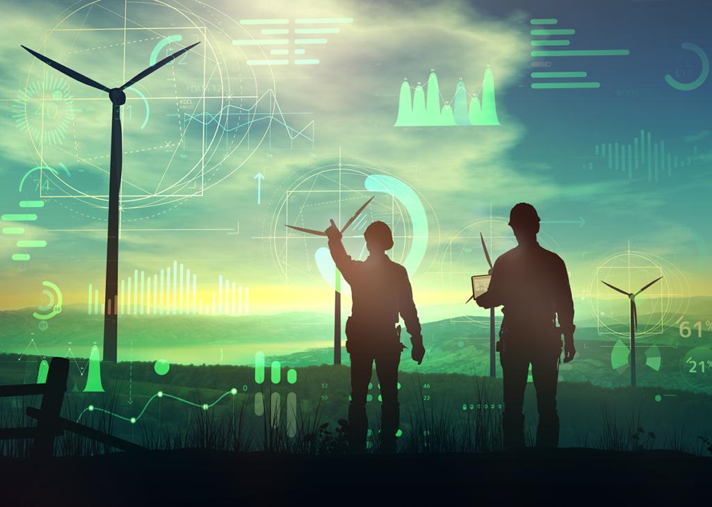 Rekordanteil - Erneuerbarer Energien Management