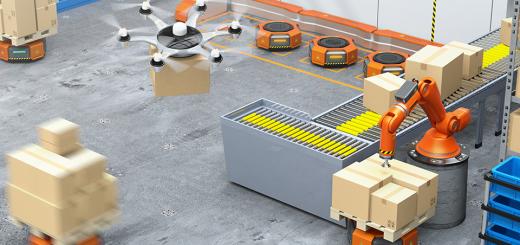 FALC / Fully Automated Logistics Center - Bild: @shutterstock|Chesky