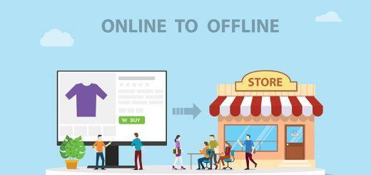Online to Offline O2O - Bild: @shutterstock|Ribkhan
