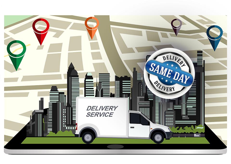 Same Day Delivery (SDD) - Bild: @shutterstock | Tetiana Yurchenko,ewart-graphics