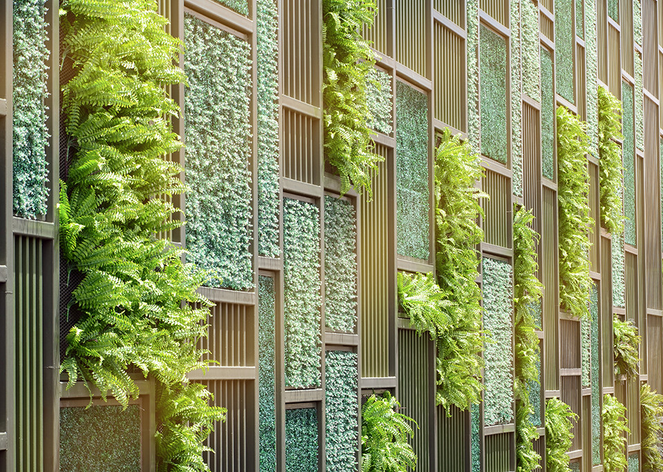 The Green Wall - @shutterstock | areeya_ann