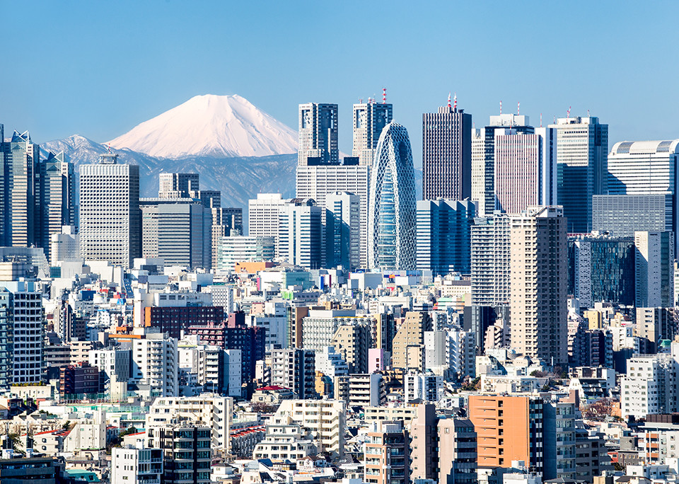 Tokio - Urbanes Wachstum – Wie Japan die Weichen für die Zukunft stellt - @shutterstock | mapman