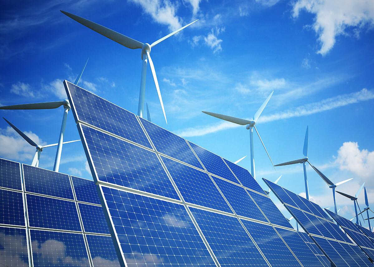 Entwicklung der Wind- und Sonnenenergie im Jahr 2020 - Bild: @shutterstock|Goodmorning3am