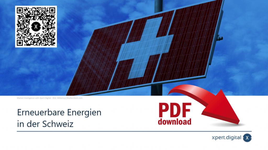 Statistiken zu erneuerbaren Energien in der Schweiz - Bild: Xpert.Digital