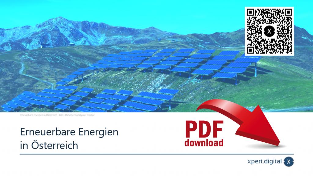 Erneuerbare Energien in Österreich - PDF Download