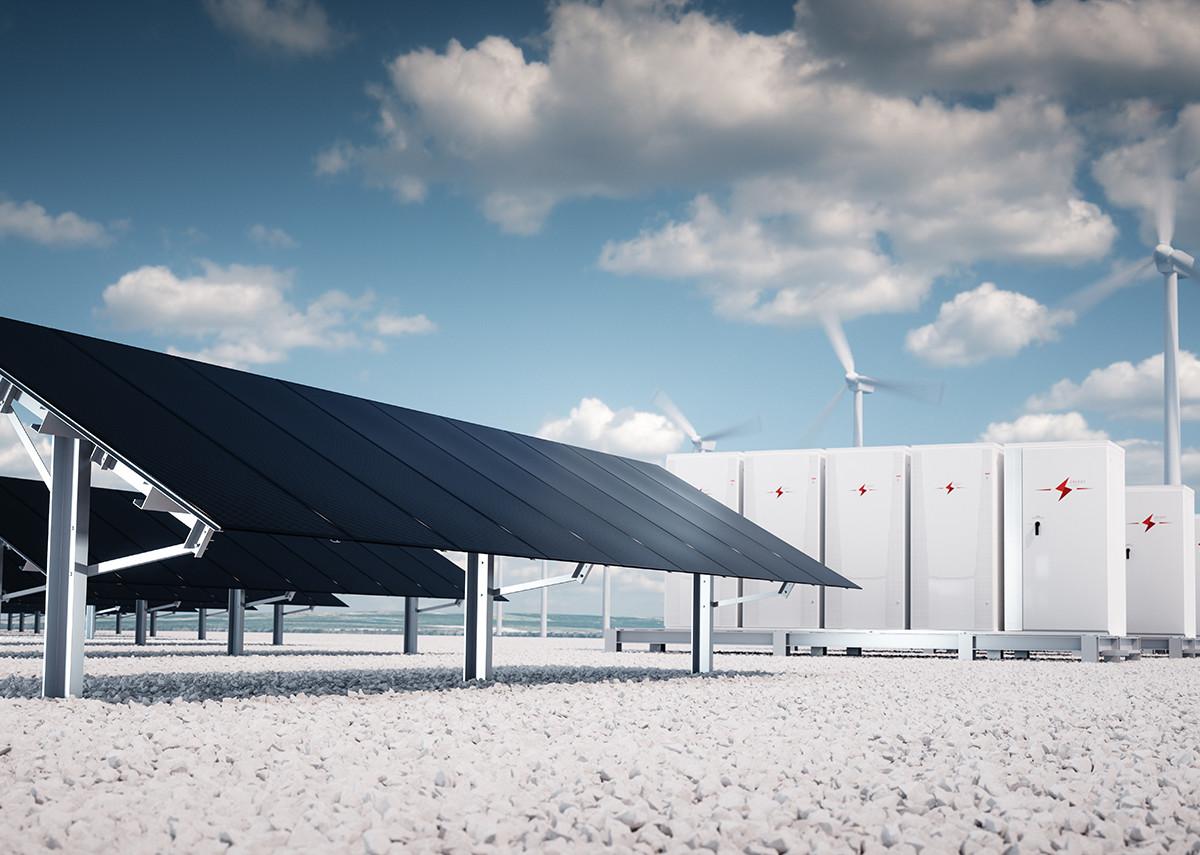 Energiespeicher für erneuerbare Energien - Bild: petrmalinak|Shutterstock.com