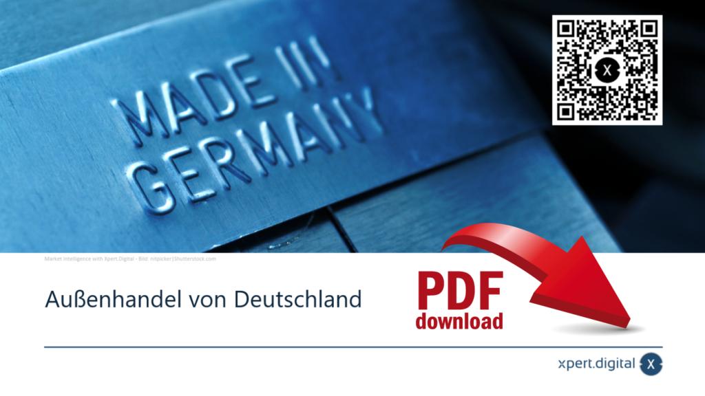 Außenhandel von Deutschland - PDF Download
