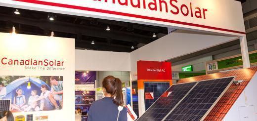 Canadian Solar - Renewable Energy Environmental Technology - Bild: Shutter B Photo|Shutterstock.com
