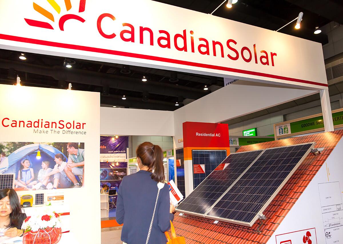 Canadian Solar - Renewable Energy Environmental Technology - Bild: Shutter B Photo|Shutterstock.com