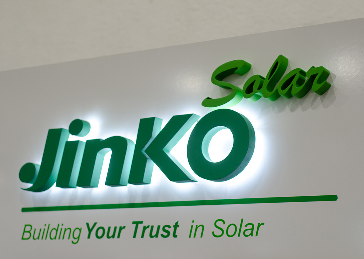 JinkoSolar - Building your Trust in Solar - Bild: Lutsenko_Oleksandr|Shutterstock.com