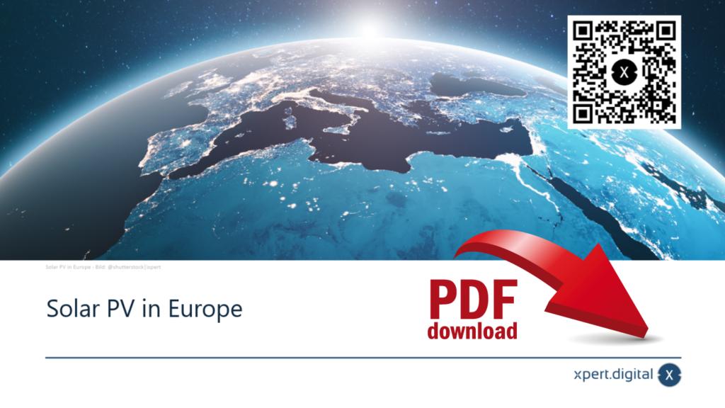 Solar PV in Europe - PDF Download