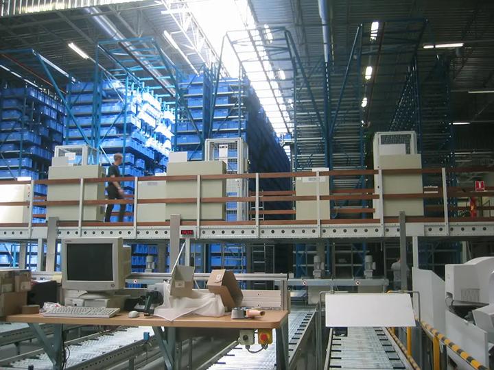 Automatisches Kleinteilelager (AKL)