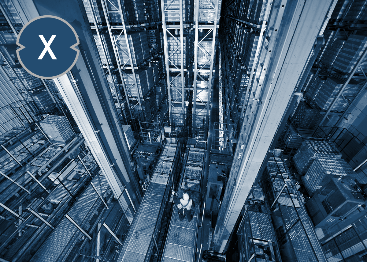 Automated storage and retrieval system - AS/RS (Automatisches Lager- und Abholsysteme)