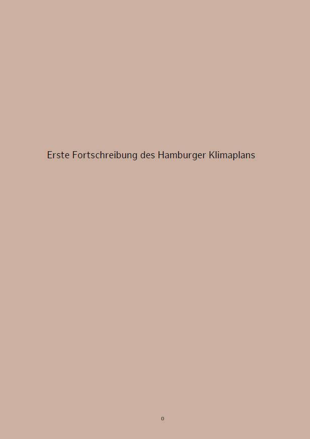 Hamburger Klimaplan PDF