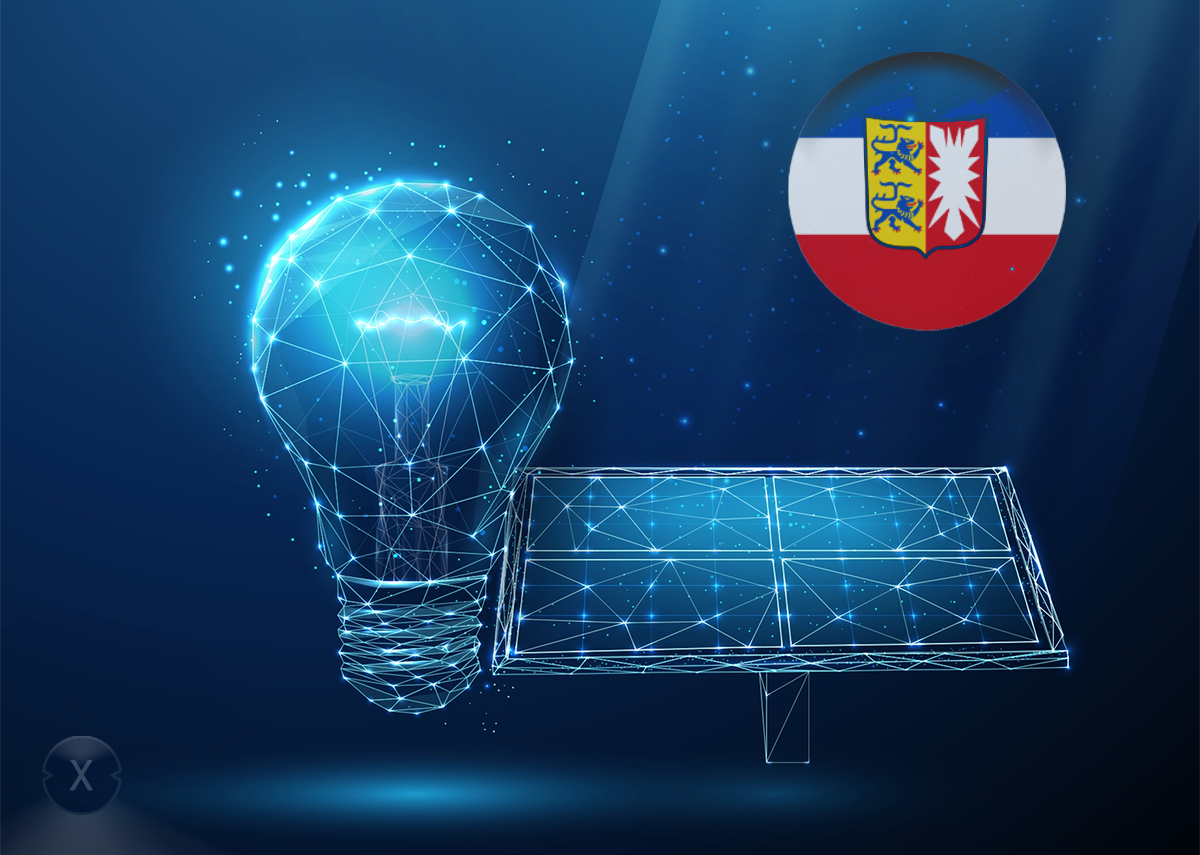 Solaranlage bzw. Photovoltaik-Anlagen Pflicht in Schleswig-Holstein – Bild: Xpert.Digital & Butusova Elena|Shutterstock.com