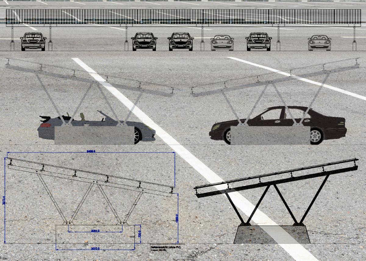 Solar-Carport - Bild: Xpert.Digital|T.Werk GmbH