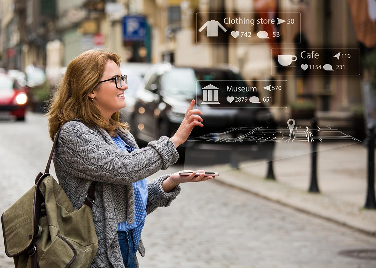 Die erweiterte Realität in der digital-physikalischen Welt - Bild: Scharfsinn Shutterstock.com