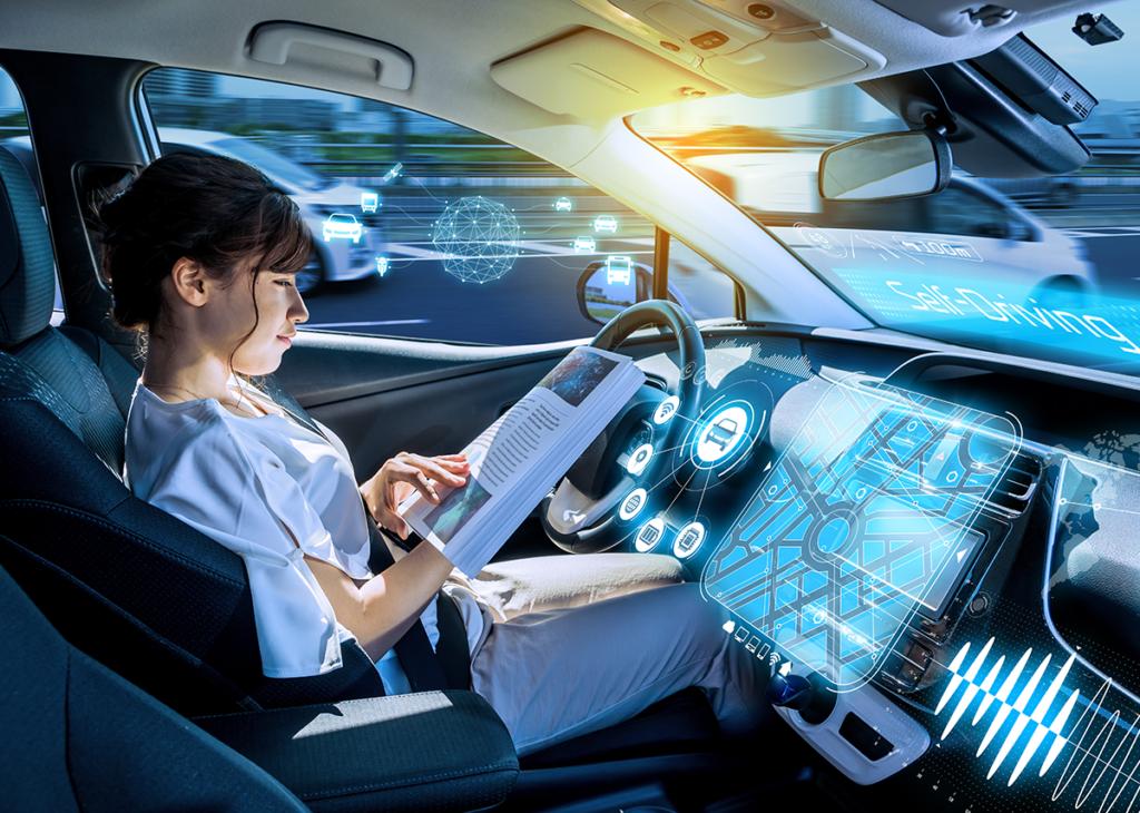 Sicheres autonomes Fahren dank IoT - Bild: metamorworks Shutterstock.com
