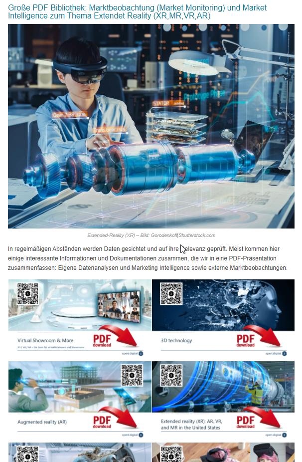 Erweiterte Realität - PDF Bibliothek - Bild: Xpert.Digital