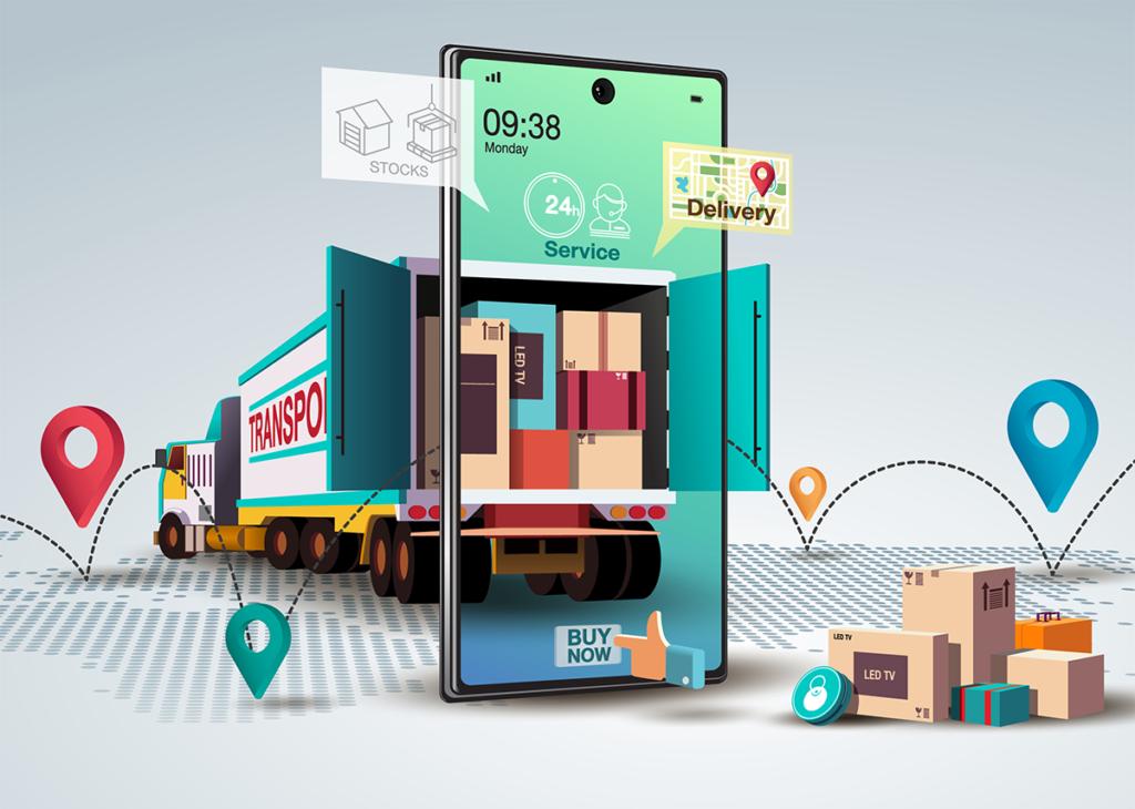 Logistik: 2020 stagnierte der Umsatz