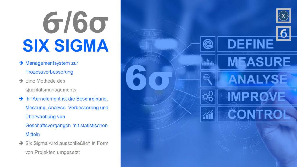 Six Sigma - Bild: Xpert.Digital