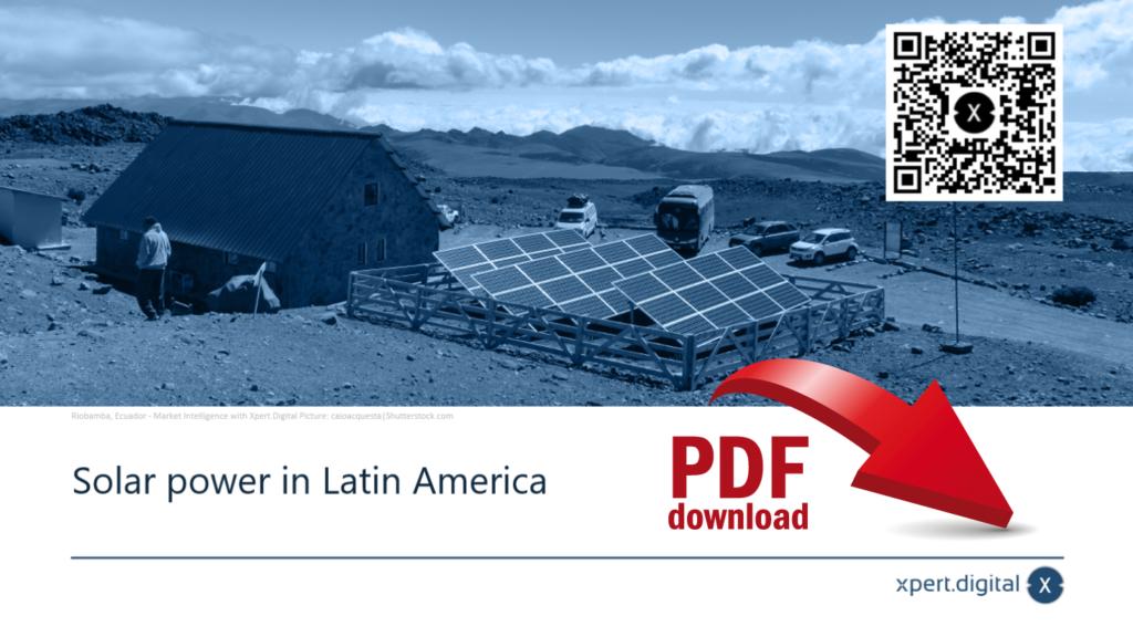 Solar power in Latin America - PDF Download