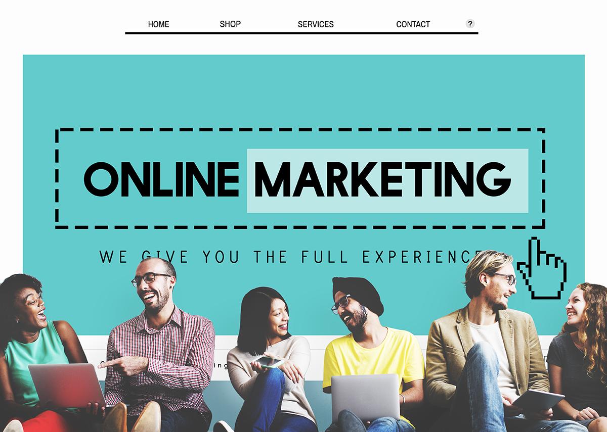 Online Marketing Bibliothek - Bild: Rawpixel.com|Shutterstock.com