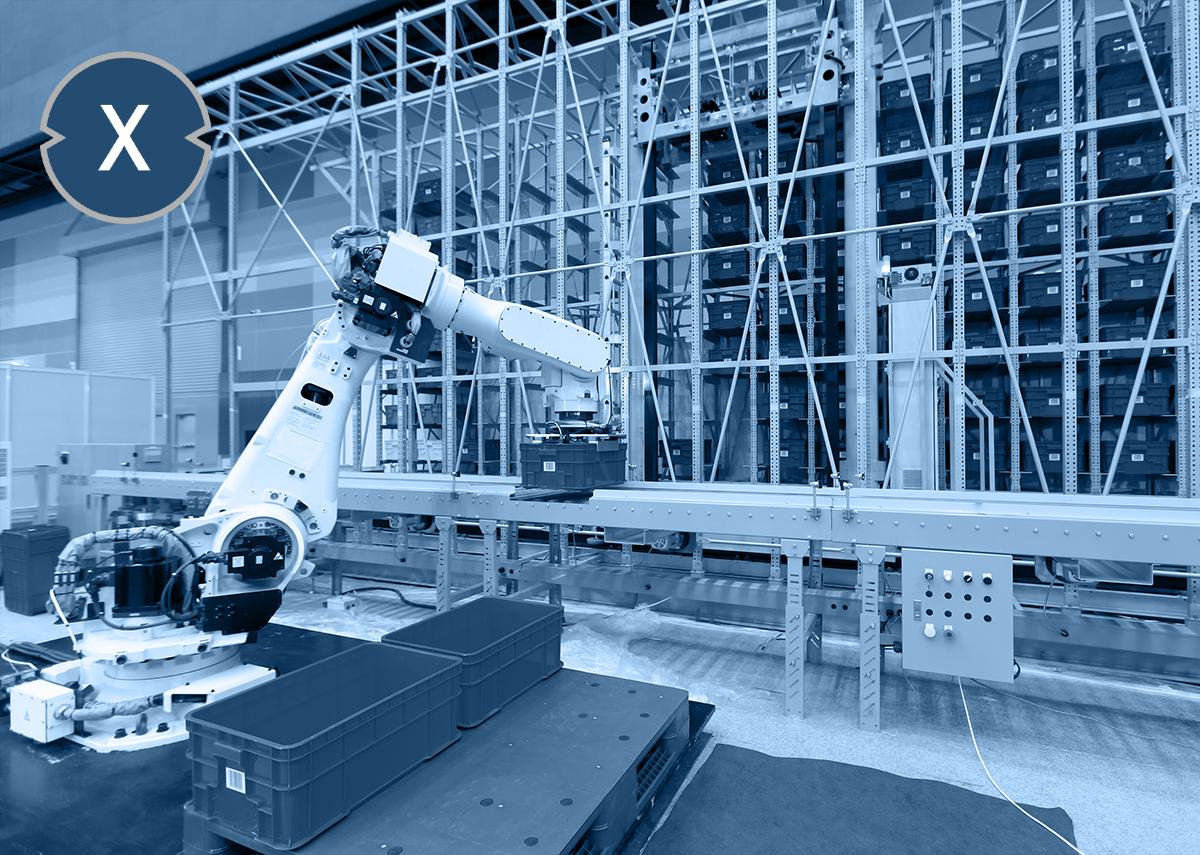 Top Ten Material Handling Automation - Bild: Xpert.Digital & FUN FUN PHOTO Shutterstock.com