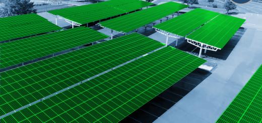 Photovoltaik Solarcarport und Solar für Flachdach wie Schrägdach - Xpert.Digital / wadstock|Shutterstock.com