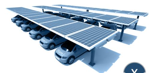 Solarcarport: Solar Carports in Deutschland - die Zukunft? - Bild: Xpert.Digital | Solcan Design|Shutterstock.com