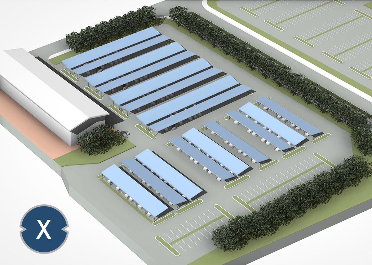 Solar Carport, Flachdach, Solarpark & Freilandanlage planen - Xpert.Digital