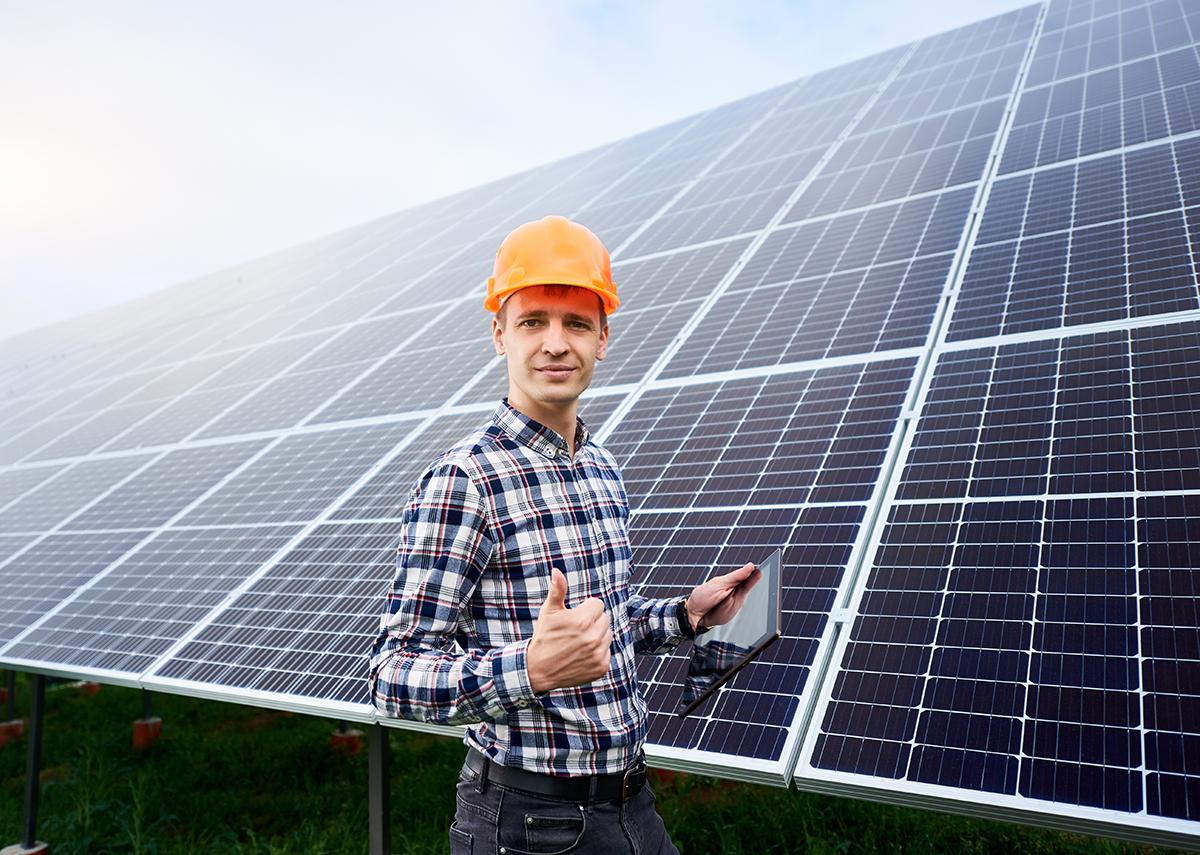 Solarparks beliebteste Stromerzeugungsanlagen - Bild: anatoliy_gleb|Shutterstock.com